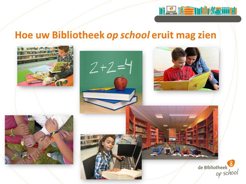 Hoe uw Bibliotheek op school eruit mag zien