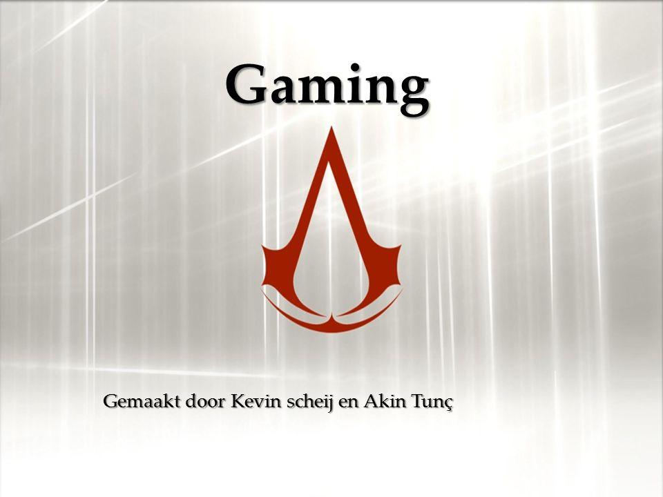 { Gaming Gemaakt door Kevin scheij en Akin Tunç
