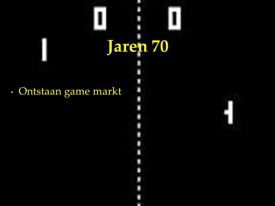 Ontstaan game markt Jaren 70
