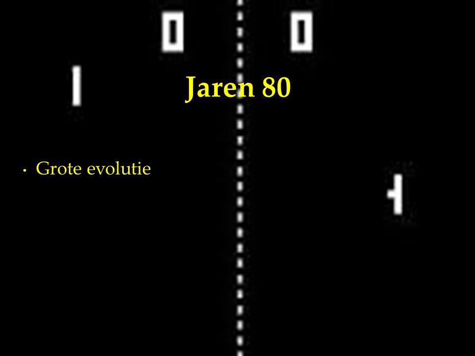 Grote evolutie Jaren 80
