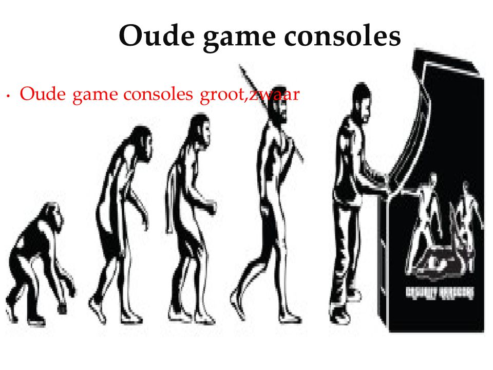 Oude game consoles groot,zwaar Oude game consoles