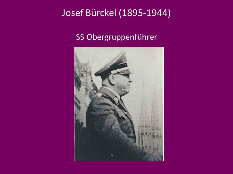 Josef Bürckel (1895-1944) SS Obergruppenführer