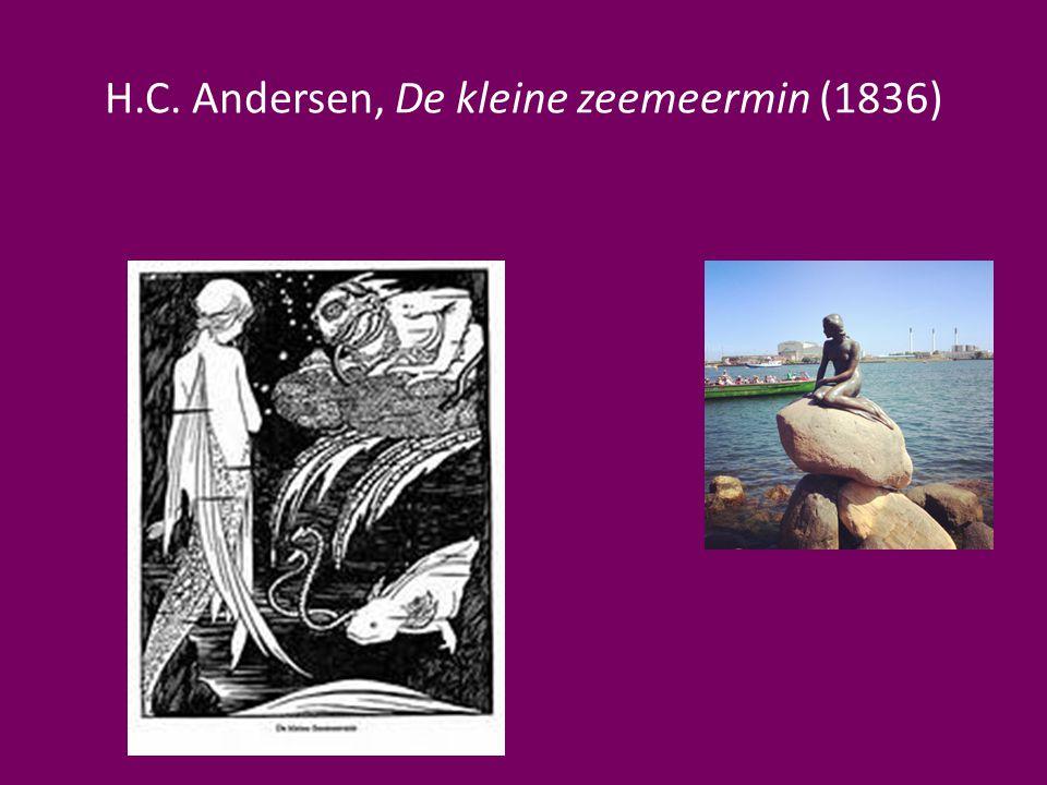 H.C. Andersen, De kleine zeemeermin (1836)