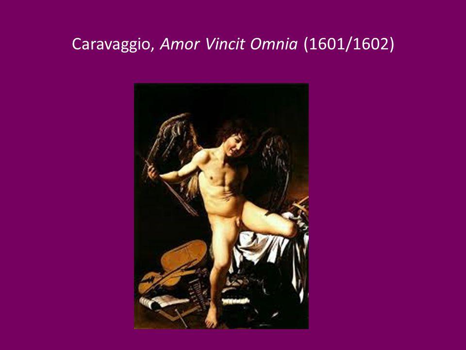 Caravaggio, Amor Vincit Omnia (1601/1602)