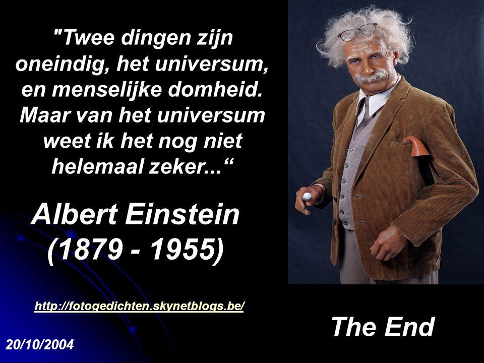 De gehele wetenschap is niets meer dan een verfijning van het dagelijks denken. A.E