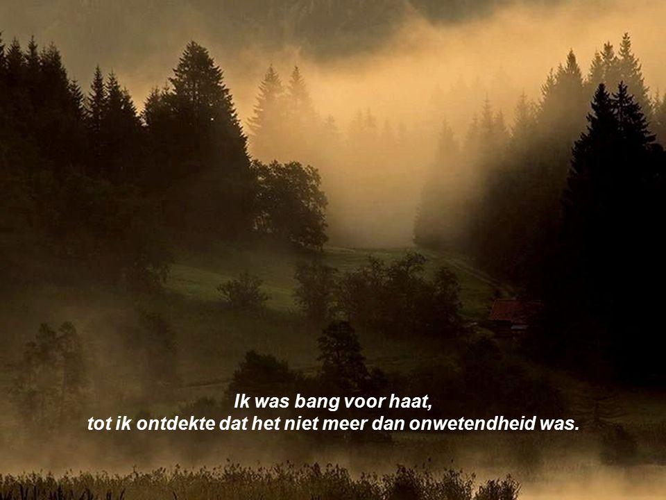 Ik was bang voor de dood, tot ik besefte dat de dood niet het einde is maar een begin.