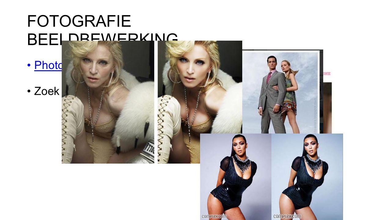 FOTOGRAFIE BEELDBEWERKING Photoshopdisasters Zoek de photoshop fail