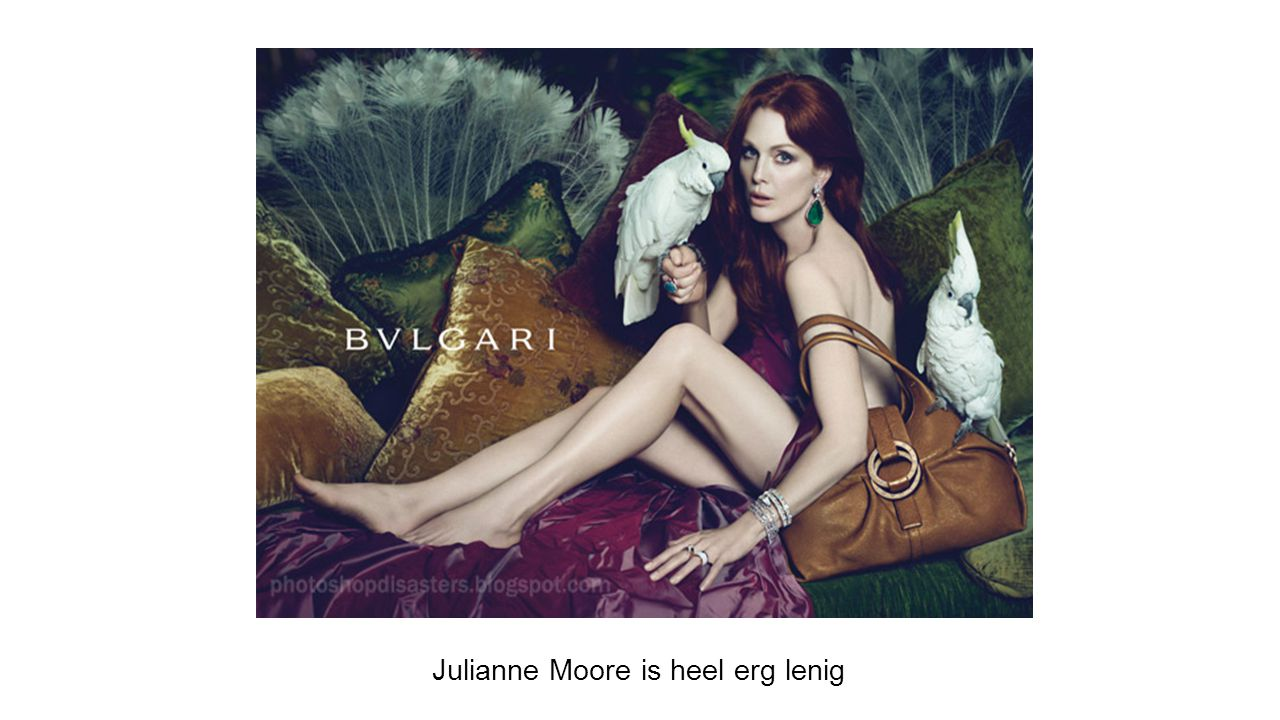 Julianne Moore is heel erg lenig