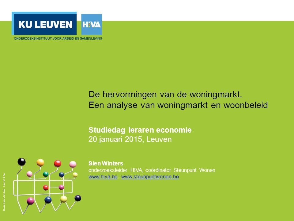 4. Prijzen 12 Nominale woningprijzen, Vlaams Gewest, 1995-2013 Bron: FOD Economie, ADS