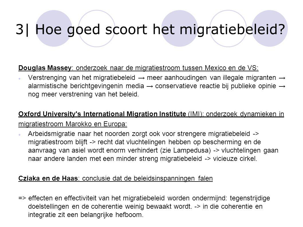 3| Hoe goed scoort het migratiebeleid? Douglas Massey: onderzoek naar de migratiestroom tussen Mexico en de VS: Verstrenging van het migratiebeleid →