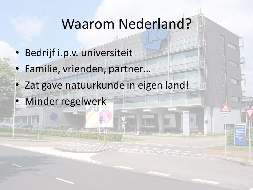 Waarom Nederland. Bedrijf i.p.v.