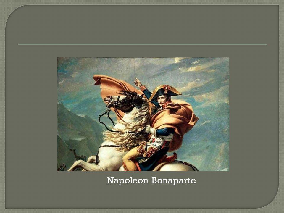  consulaat  'Code Napoleon'  slag bij Waterloo 1815  eiland Sint Helena