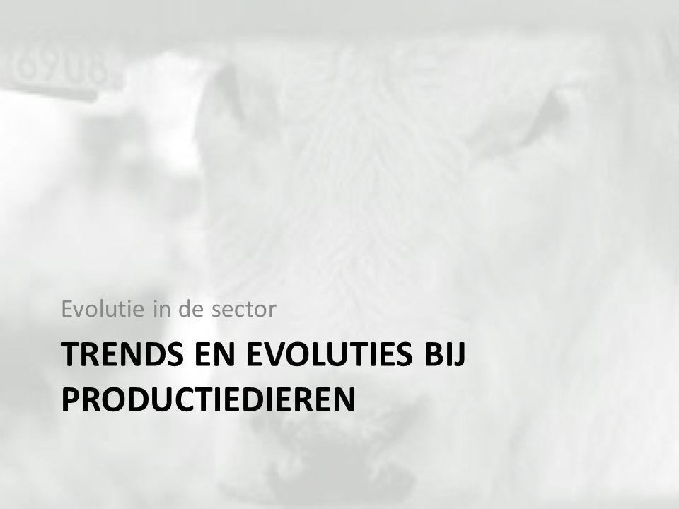 TRENDS EN EVOLUTIES BIJ PRODUCTIEDIEREN Evolutie in de sector
