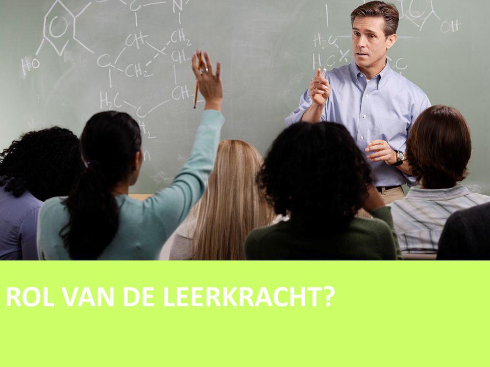 ROL VAN DE LEERKRACHT?