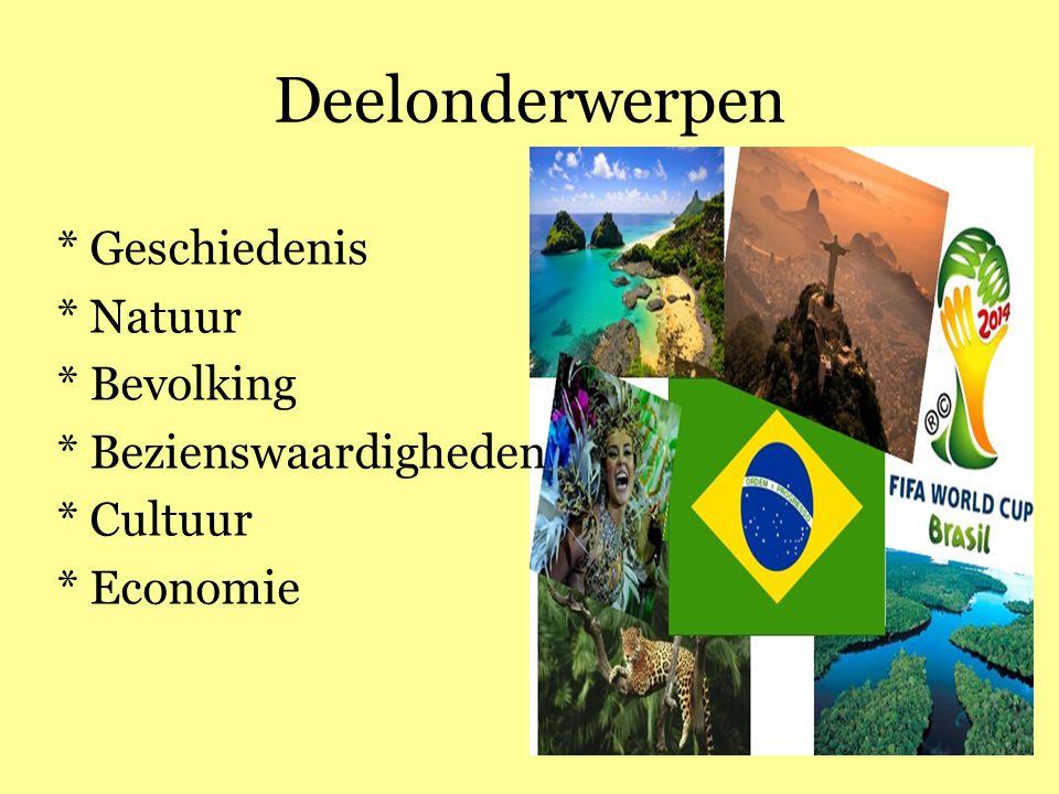 Deelonderwerpen * Geschiedenis * Natuur * Bevolking * Bezienswaardigheden * Cultuur * Economie