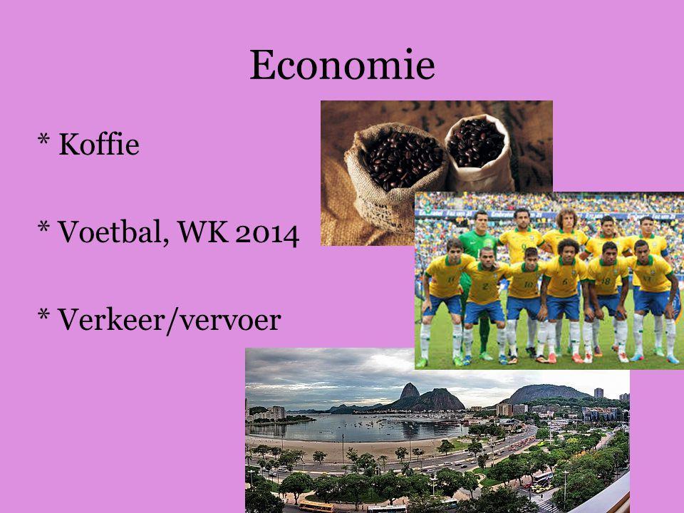 Economie * Koffie * Voetbal, WK 2014 * Verkeer/vervoer