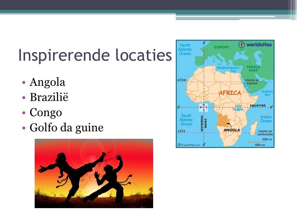 Inspirerende locaties Angola Brazilië Congo Golfo da guine