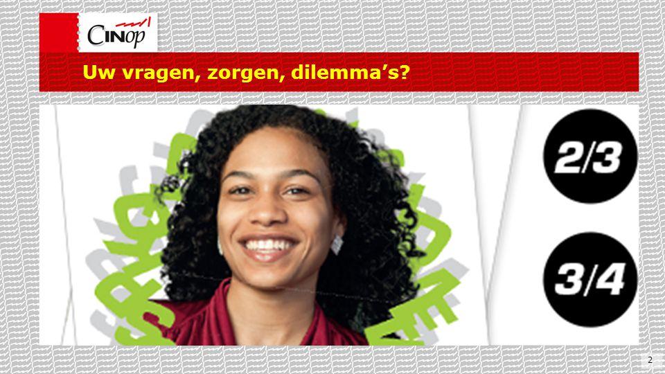 Uw vragen, zorgen, dilemma's? 2
