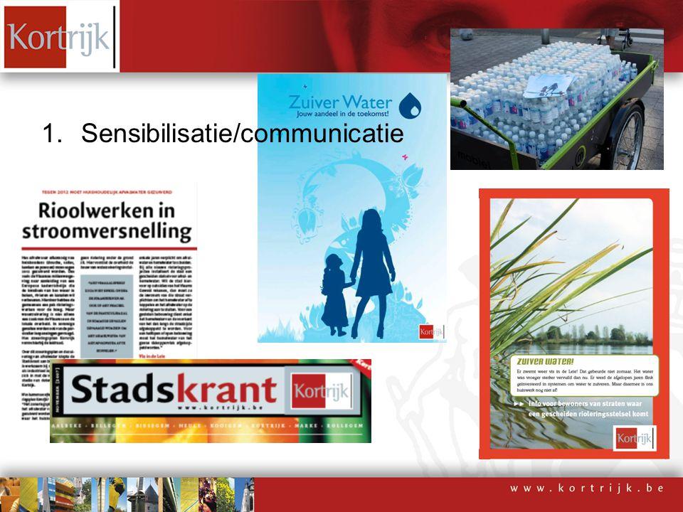1.Sensibilisatie/communicatie