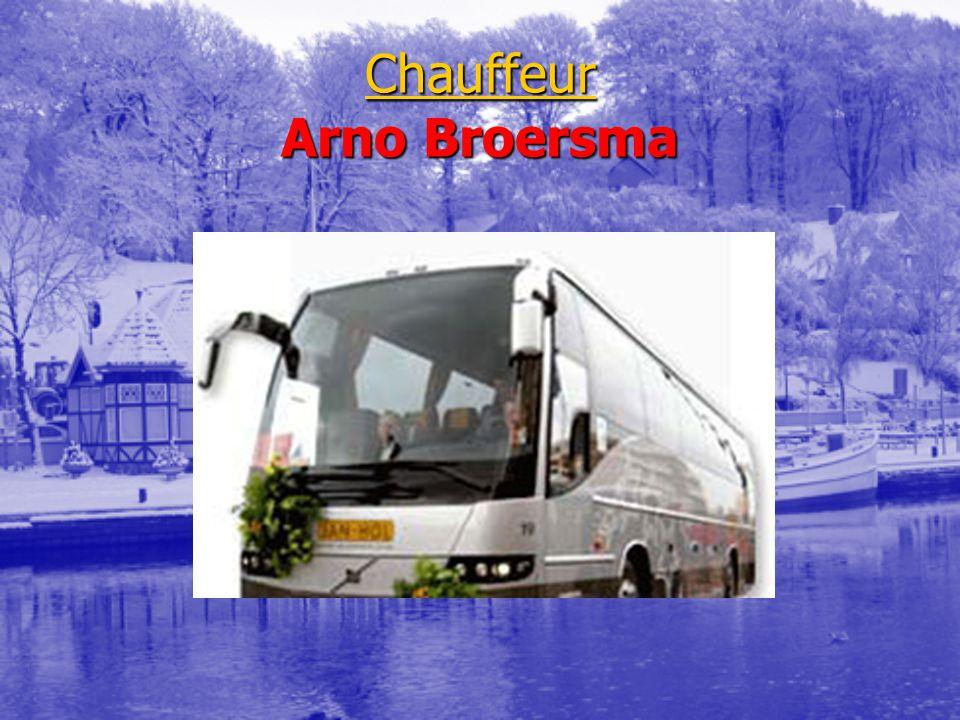 Chauffeur Arno Broersma