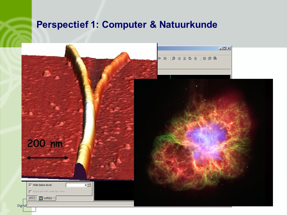 Perspectief 1: Computer & Natuurkunde