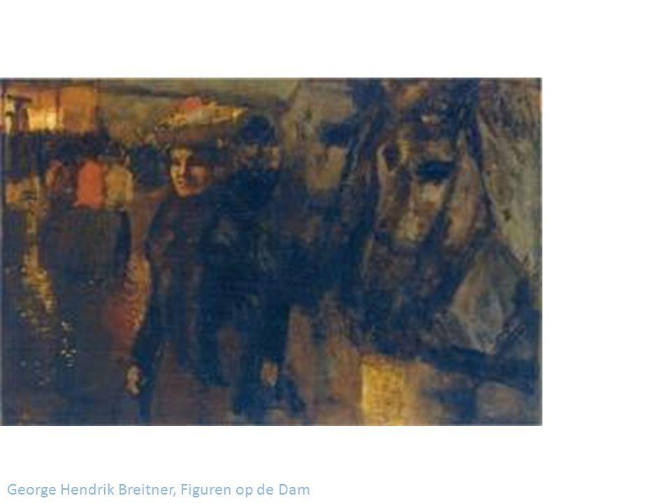 George Hendrik Breitner, Figuren op de Dam