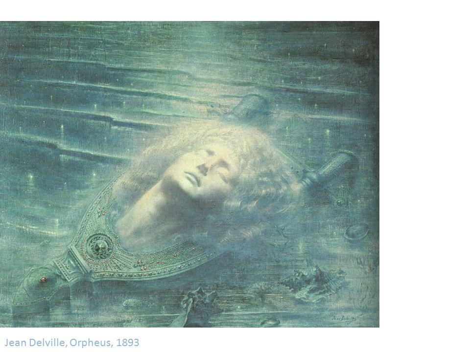 Jean Delville, Orpheus, 1893