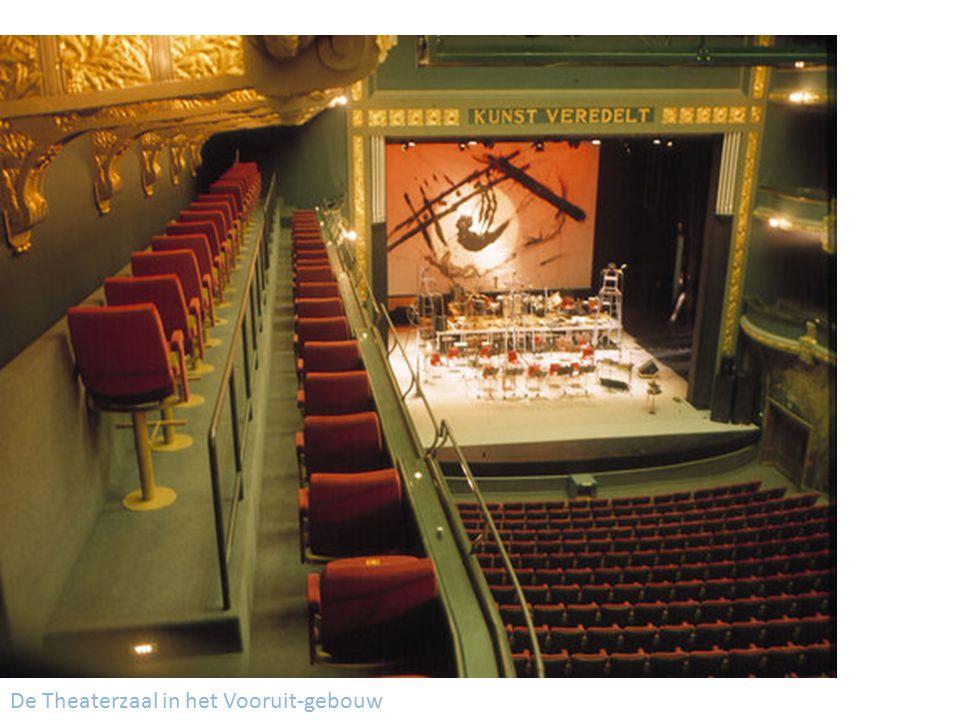 De Theaterzaal in het Vooruit-gebouw