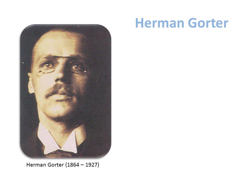 Herman Gorter Herman Gorter (1864 – 1927)