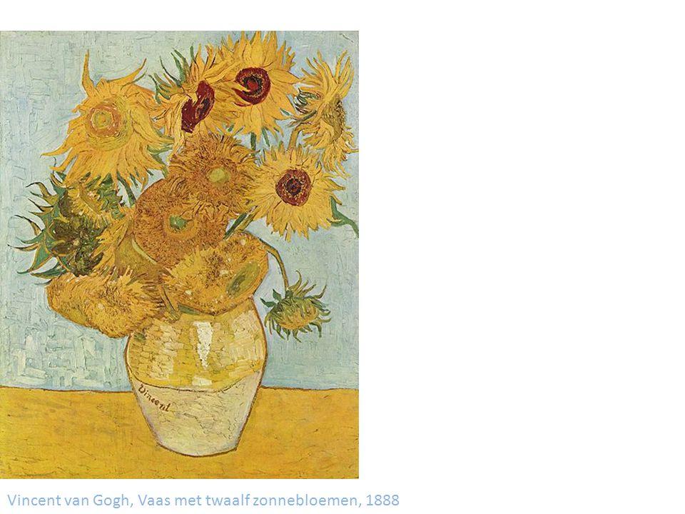 Vincent van Gogh, Vaas met vijf zonnebloemen, 1888