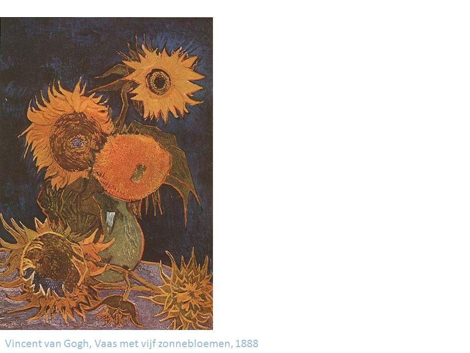 Vincent van Gogh, Vaas met vijftien zonnebloemen, 1889