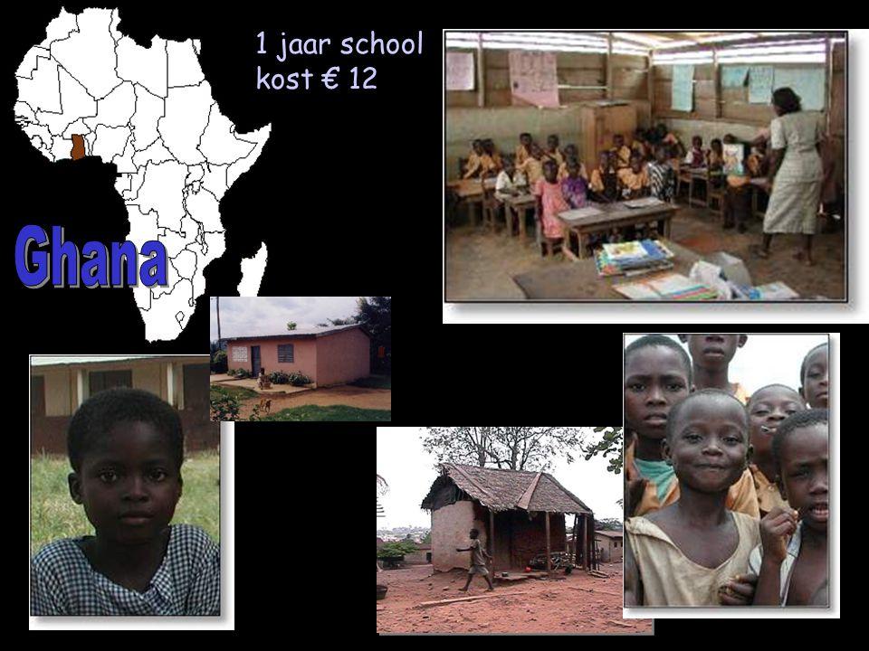 1 jaar school kost € 12