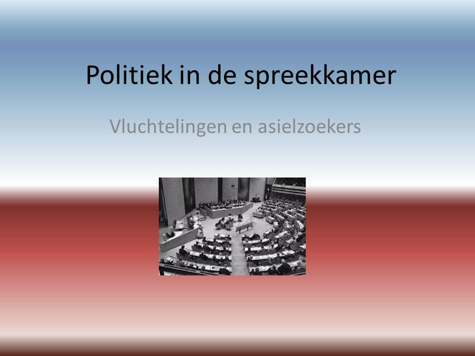 Politiek in de spreekkamer Vluchtelingen en asielzoekers