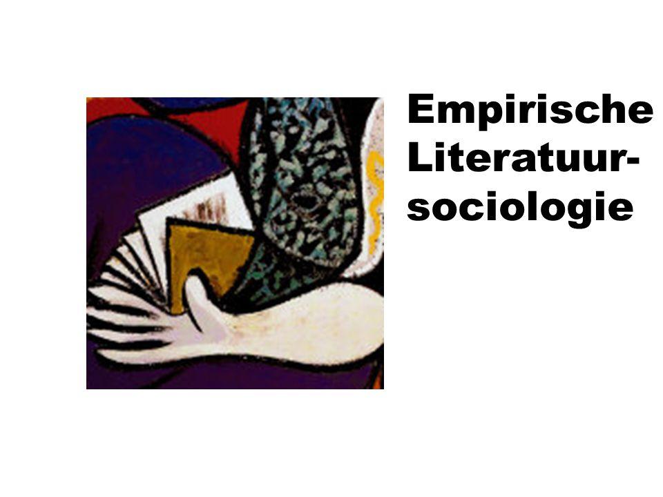 Empirische Literatuur- sociologie