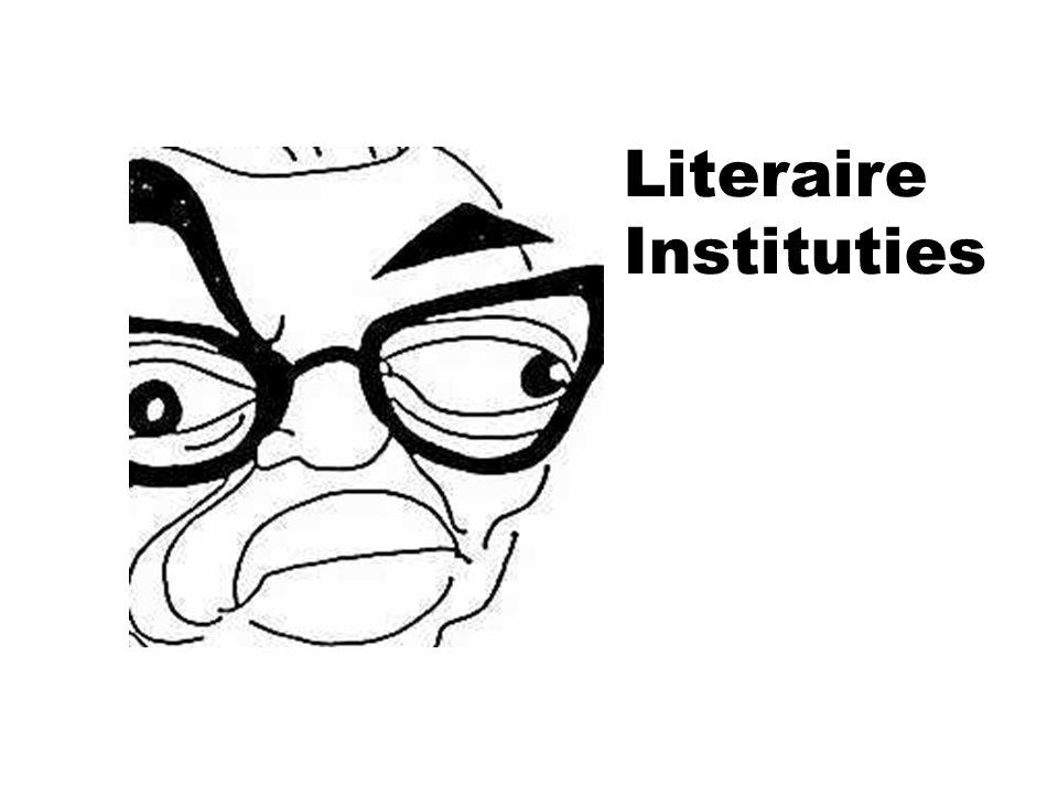 Literaire Instituties