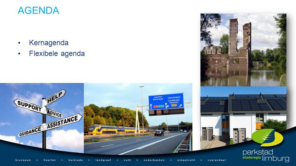 AGENDA Kernagenda Flexibele agenda