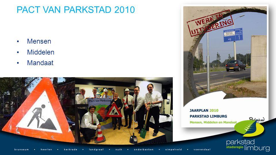 PACT VAN PARKSTAD 2010 Mensen Middelen Mandaat