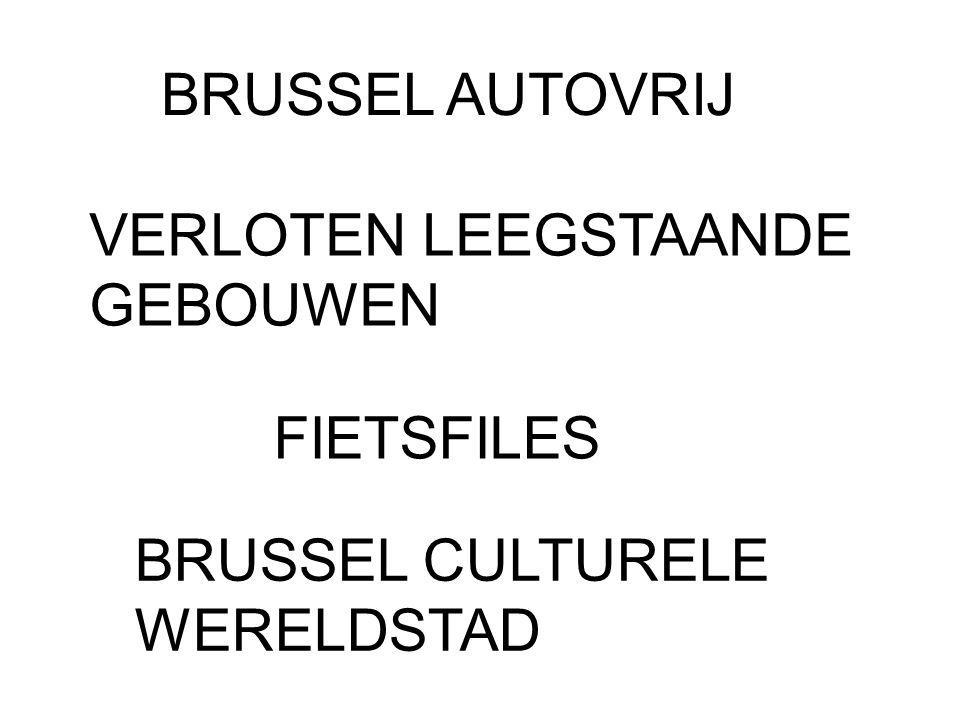 BRUSSEL AUTOVRIJ VERLOTEN LEEGSTAANDE GEBOUWEN FIETSFILES BRUSSEL CULTURELE WERELDSTAD