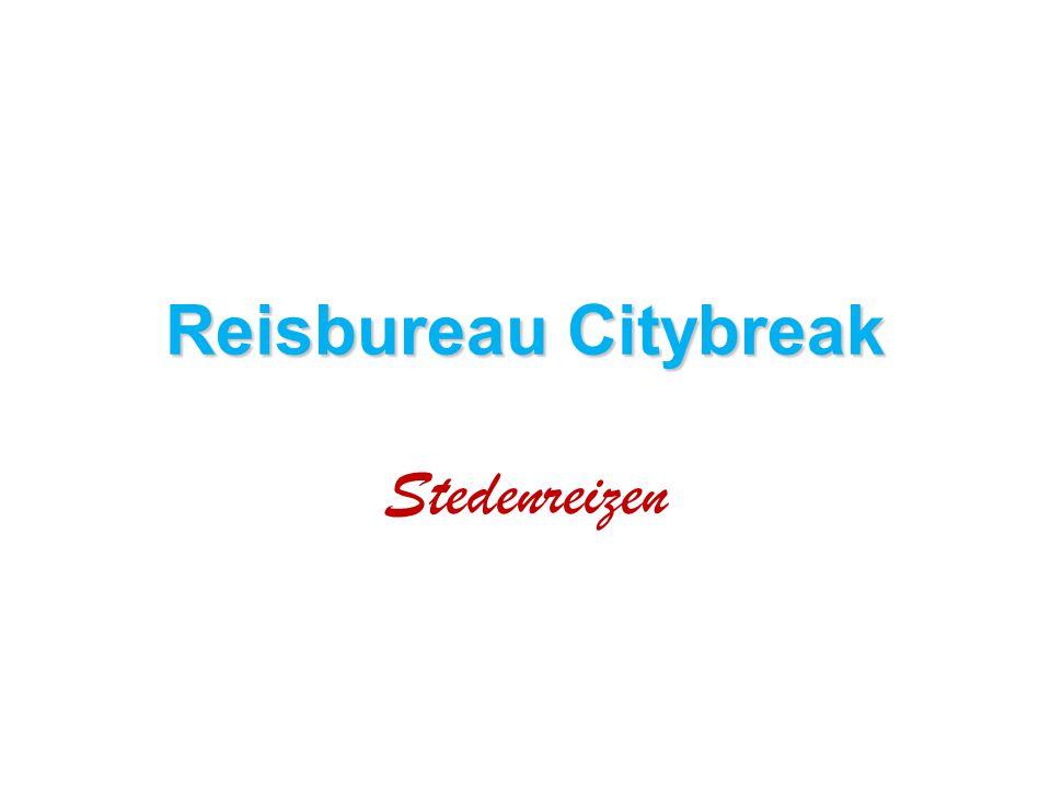 Reisbureau Citybreak Stedenreizen