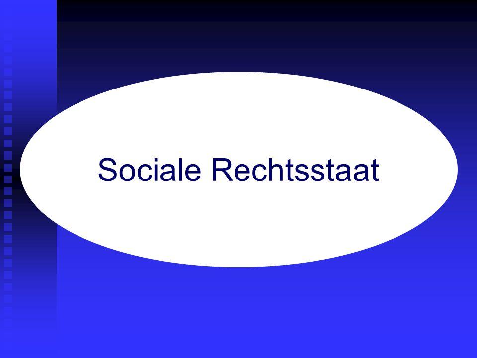 rechtsstaat verzorgingsstaat Sociale Rechtsstaat