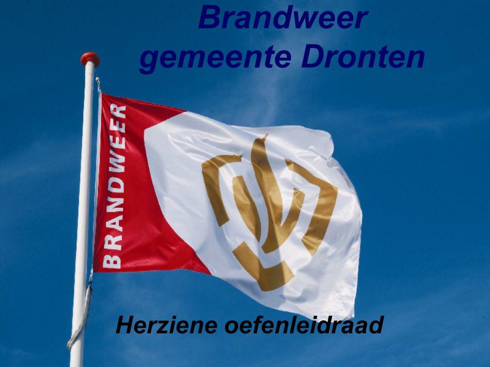 Brandweer gemeente Dronten Herziene oefenleidraad