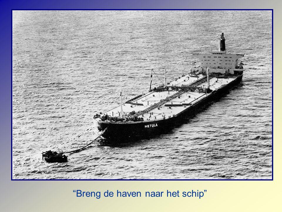 Breng de haven naar het schip