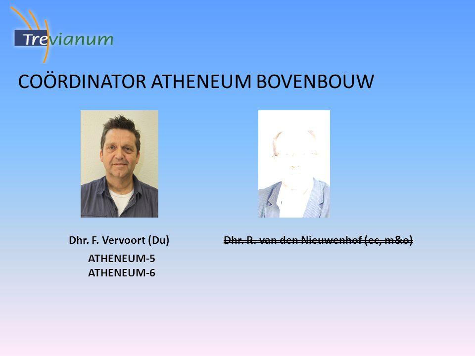 Mentoren atheneum 5 Dhr.W. Strik (AK) Mw. S. Theelen (SK) Dhr.