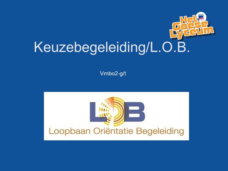 Keuzebegeleiding/L.O.B. Vmbo2-g/t