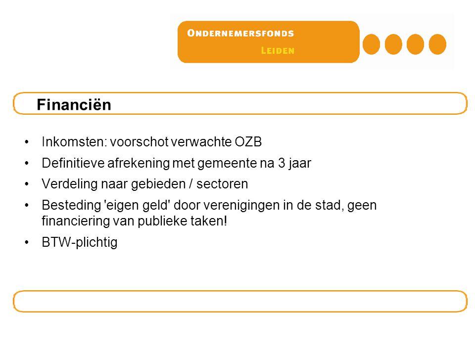 Vragen? Meer informatie: www.ondernemersfonds.nl