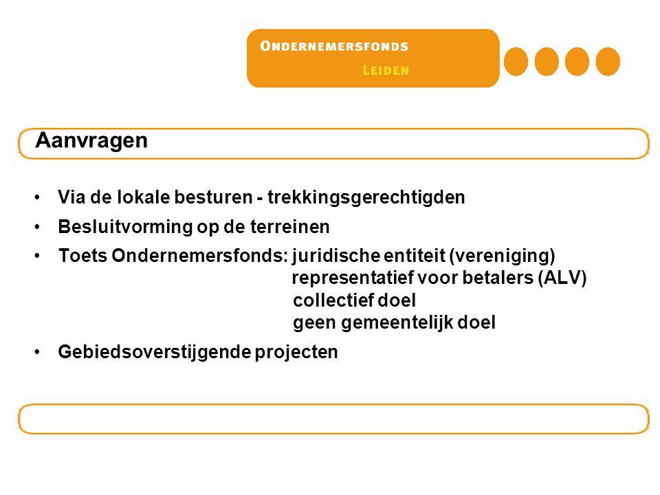 Ondernemersfondsen (OZB) in NL Leeuwarden, Assen, Groningen, Leek, Meppel, Gouda, Katwijk, Delft, Pijnacker-Nootdorp, Lisse, Nijmegen, Arnhem, Utrecht