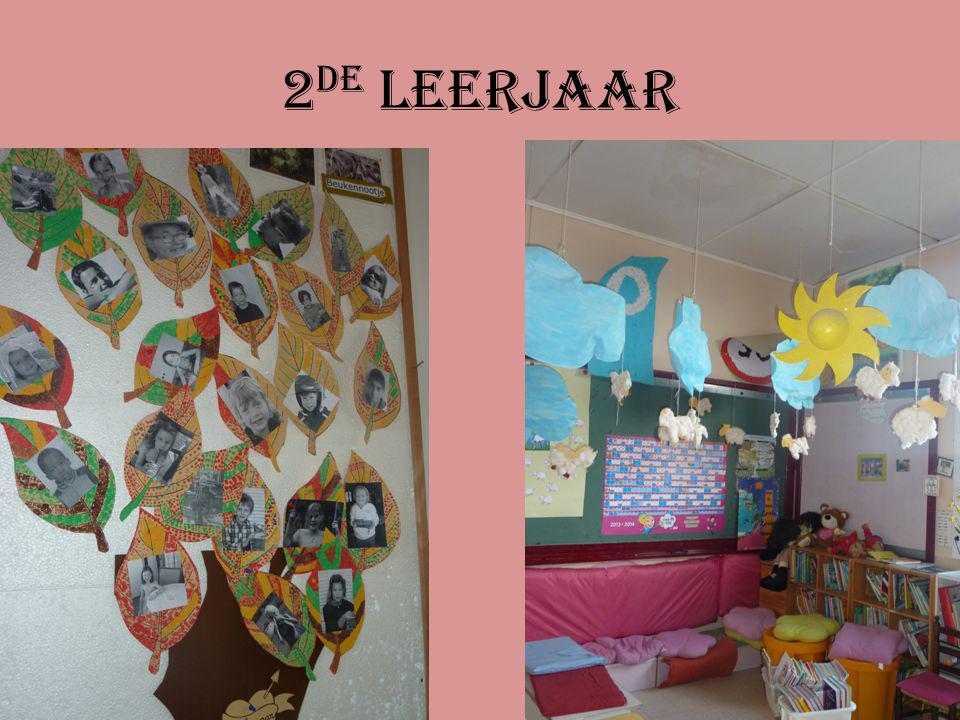 De klasmascotte van het 1 ste leerjaar