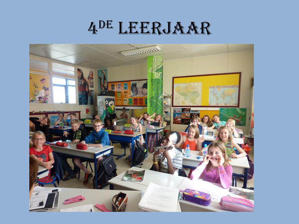 3 de leerjaar