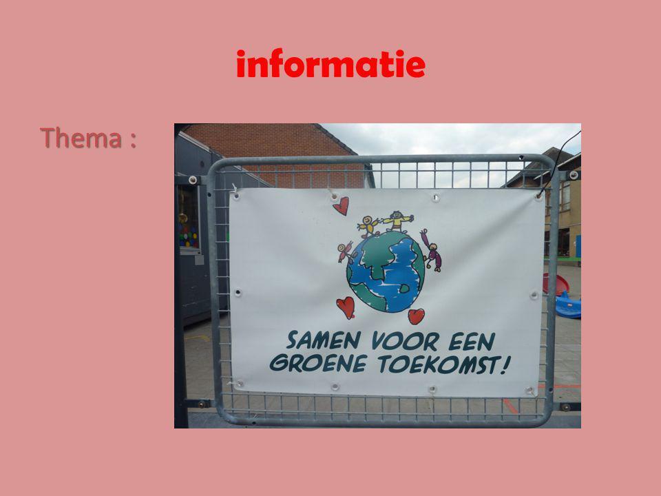 informatie Thema :