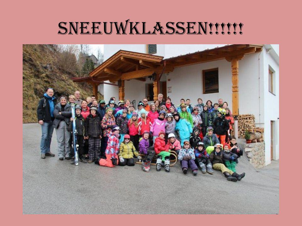 Sneeuwklassen!!!!!!